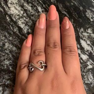 Kay Jewelers open hearts ring